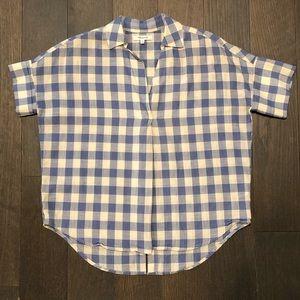 Madewell button-back shirt